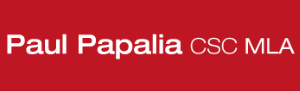 Paul Papalia (Add Red background to it like website)