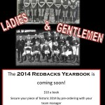 2014 Redbacks Yearbook is coming!